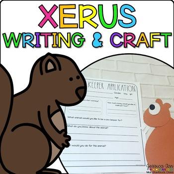 Xavier the Xerus { Animal Craftivity and Writing Prompts! }