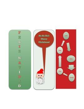 Xmas Bookmarks