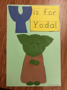 Y is for YODA Craft
