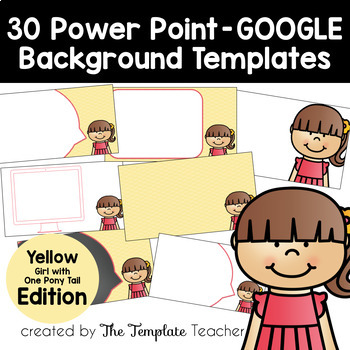 YELLOW Editable PowerPoint & Google Slides Templates -Pers