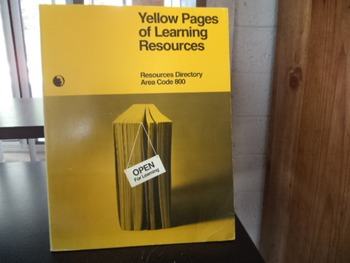 YELLOW PAGES OF LEARNING RESOURCES