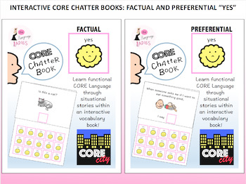 YES: Interactive Core City Chatter Books