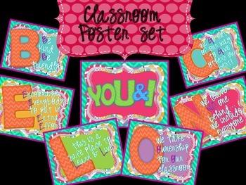 YOU & I BELONG - CLASSROOM DECOR SET
