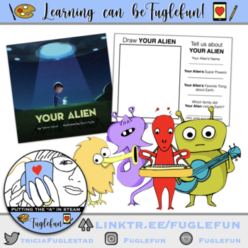 YOUR ALIEN: Creativity and Literature Drawing lesson based