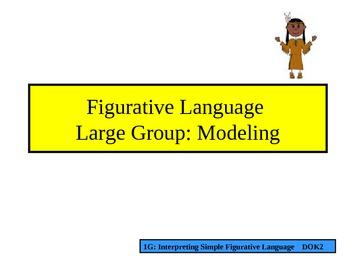 Yah Tah Hey: Figurative Language