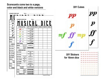 Yahtzee -inspired Musical Dice Game (Dynamics)