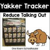 Yakker Tracker: A Behavior Management System to Reduce Tal