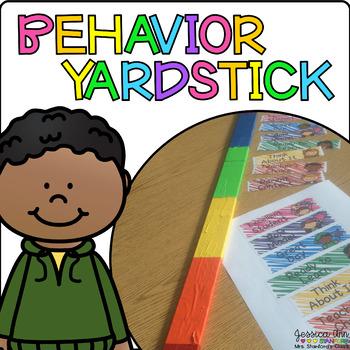 Behavior Yardstick Clip Chart and Tracking Sheets
