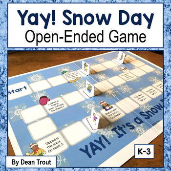 Yay, Snow Day! open ended board game