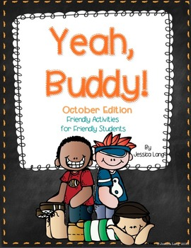 Yeah, Buddy! Friendly Activities for Buddies to Do {Octobe