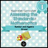 Year 1 Australian Curriculum Maths Assessment Number and A