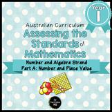 Year 1 Australian Curriculum Maths Assessment Part A Numbe