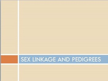 Year 12 Biology - Sex Linkage and Pedigrees