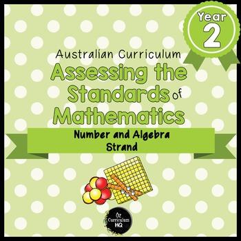 Year 2 Australian Curriculum Maths Assessment Number and A