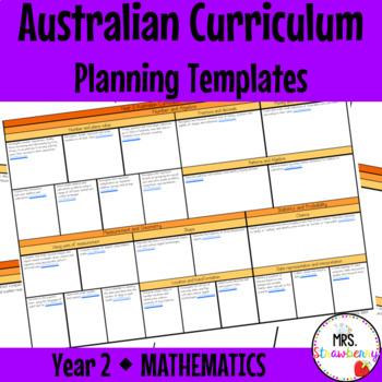 Year 2 Australian Curriculum Planning Templates - Mathematics
