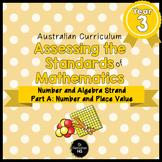 Year 3 Australian Curriculum Maths Assessment Part A Numbe