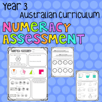 Year 3 Australian Numeracy Assessment