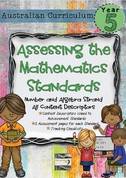 Year 5 Australian Curriculum Maths Assessment Number and A