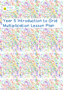 Year 5 Introduction to Grid Method Multiplication