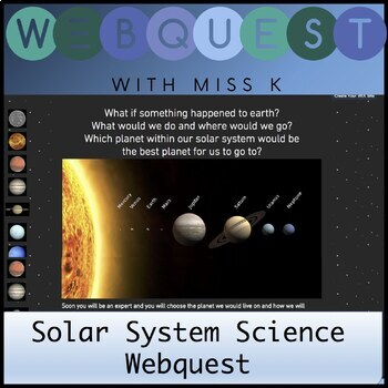 Year 5 Science web quest