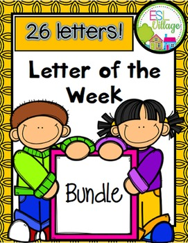 Letter of the Week (Year-Around BUNDLE)