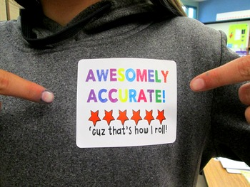 End of Year Awards  {Wearable Brag Tags} 46 Great End of Y