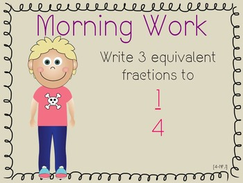 Year-Long Common Core Math Morning Work