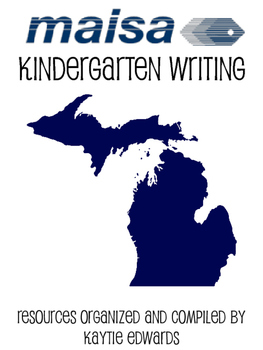 Year-Long Outline for Kindergarten Writing Based on the CC