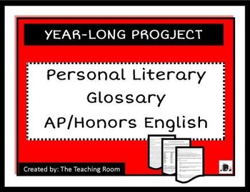 Literary Terms Project Year-Long Personal Literary Glossar