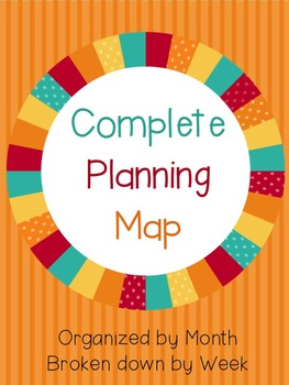 Year Long Planning Book with Weekly Snapshots