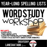 Year-Long Word Pattern Lists