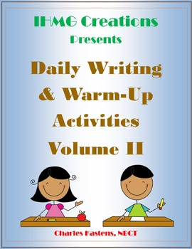 Year-Long Writing Prompts and Warm-Up Activities (Common Core)