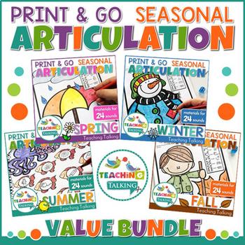 Year Round Articulation Print & Go Bundle