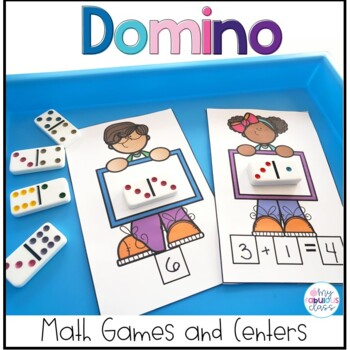 Year Round Domino Math Centers