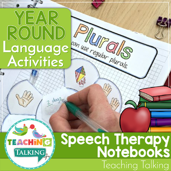 Year Round Interactive Language Notebooks