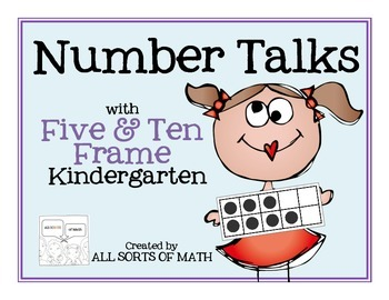 NUMBER TALKS with the FIVE/TEN FRAME (Kinder Edition)