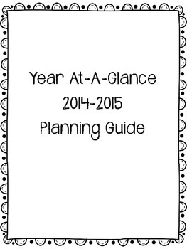 Year-at-a-Glance Planner