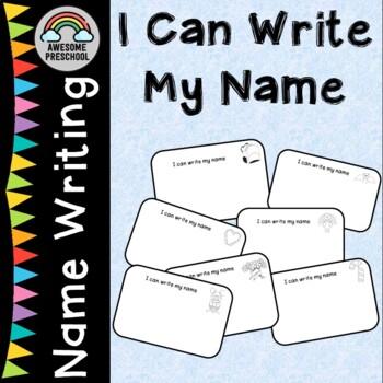 Year long Name Writing Activities