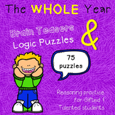 Year-round Brain Teasers & Logic Puzzles GROWING BUNDLE
