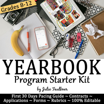 Yearbook Starter Kit for Advisers: Application, Contracts,