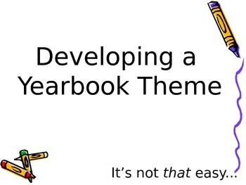 Yearbook Theme Powerpoint