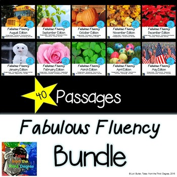 Yearlong Fabulous Fluency Bundle