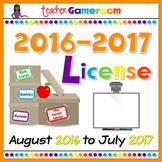Yearly Teacher Gameroom License 2016-2017