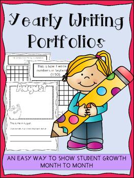 Yearly Writing Portfolios