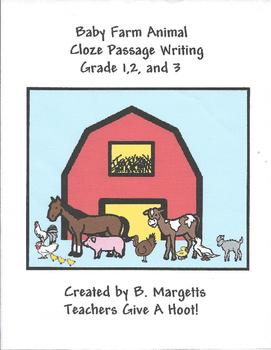 Yee Haw – Baby Farm Animals are Fun – Closed Passage Writi