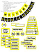 Yellow & Black Classroom Decor Pack