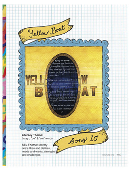 Yellow Boat (long oa/ow words) - use for SEL and Close Rea
