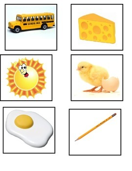 Yellow Items Flashcards
