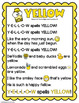 Yellow Song and Emergent Texts!