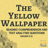 Yellow Wallpaper Common Core Assessment Practice Questions